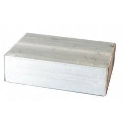 Tas aluminium pour aplanir la fibre