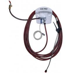 Système de dosage lavage : permet de pulvériser un produit pré-dosé - lance télescopique de 1 à 2 mètres