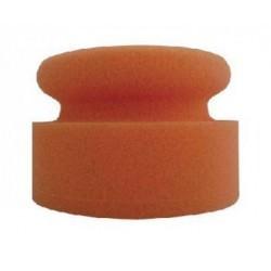Mousse de lustrage manuelle orange forme champignon