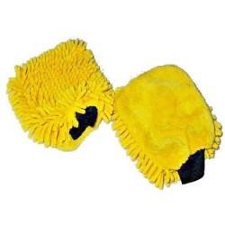 Gant microfibre rasta  gant de lavage