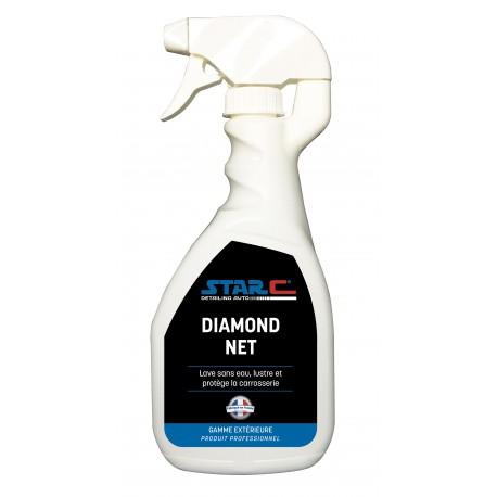 Diamond net  nettoyant carrosserie sans eau 500 ml