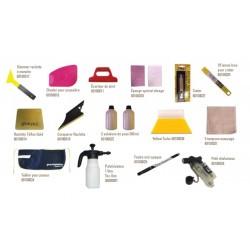 kit 15 accessoires pose de film teinté