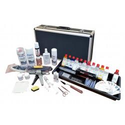Mallette réparation plasturgie, vinyle et cuir  : Pour réparer les tableaux de bord, les vinyles et le cuir