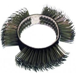 Brosse acier pour brosseuses
