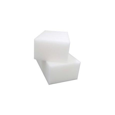 Eponge vinyle blanche