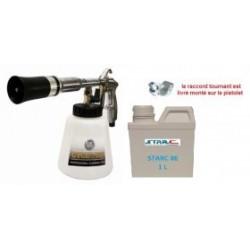 Pack  cyclone turbo AZ-2000 : Pistolet de nettoyage pneumatique + produit